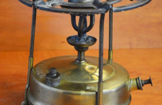 Le réchaud à pétrole en acier en cuivre « Richou »