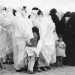 """<b>M'laya,Haik & Adjar """"sorte de bavette"""" de Ain Oulmène,Photo prise lors d'une fête à Ain Oulmène,années 70</b> <br />"""